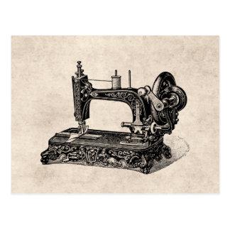 Vintage 1800s Nähmaschine-Illustration