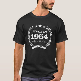 Vintage 1964 gealtert zum Perfektion T-Shirt