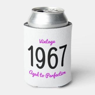 Vintage 1967 gealtert Geburtstags-dem Geschenk zur Dosenkühler