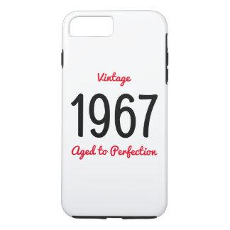 Vintage 1967 gealtert zum iPhone 8 plus/7 plus hülle