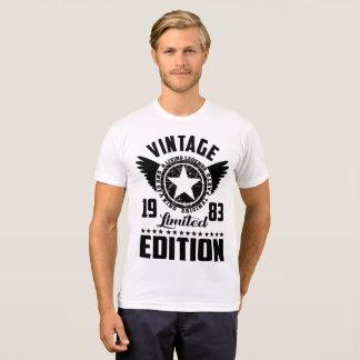 Vintage 1983 Vorlagenteile der begrenzten Ausgabe T-Shirt
