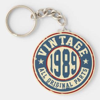 Vintage 1989 alle Vorlagen-Teile Schlüsselanhänger