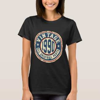 Vintage 1990 alle Vorlagen-Teile T-Shirt