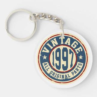 Vintage 1997 alle Vorlagen-Teile Schlüsselanhänger