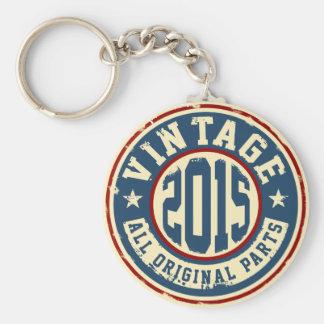 Vintage 2015 alle Vorlagen-Teile Schlüsselanhänger