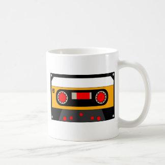 Vintage Achtzigerjahre Kassette Kaffeetasse