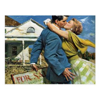 Vintage Adressenänderung Liebe und Romance