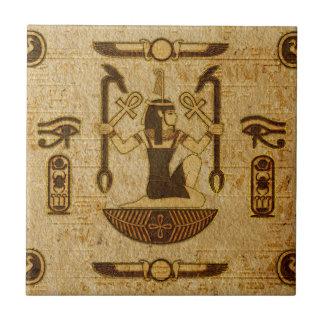 Vintage ägyptische Verzierungs-altes Papyruspapier Fliese