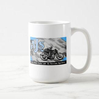 Vintage AJS Motorräder Kaffeetasse