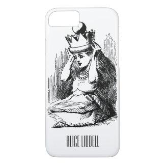 Vintage Alice im Wunderland, Alice als die Königin iPhone 8/7 Hülle