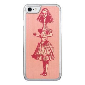 Vintage Alice im Wunderland Carved iPhone 8/7 Hülle