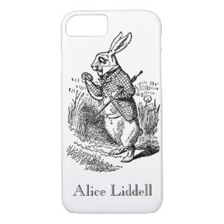 Vintage Alice im Wunderland die weiße iPhone 8/7 Hülle