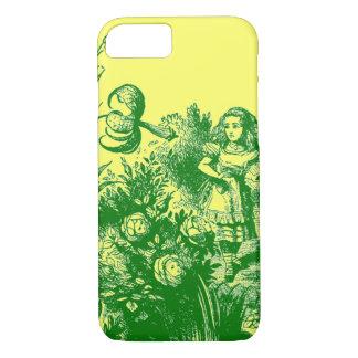 Vintage Alice im Wunderland iPhone 8/7 Hülle