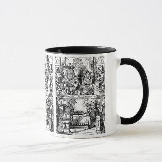 Vintage Alice im Wunderland, Königin der Herzen Tasse