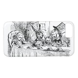 Vintage Alice im Wunderland, Tee-Party-Szene iPhone 8/7 Hülle