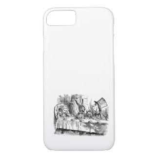 Vintage Alice im Wunderland-wütendes iPhone 8/7 Hülle