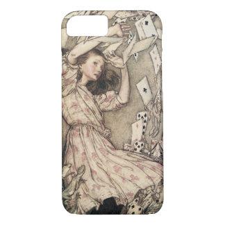 Vintage Alices Abenteuer im Märchenland durch iPhone 8/7 Hülle