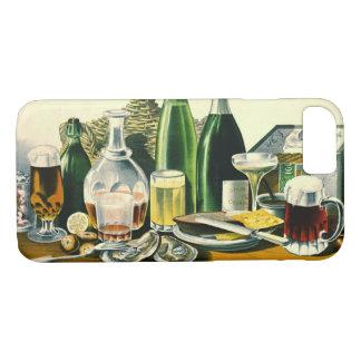 Vintage Alkohol-Anzeige 1871 iPhone 8/7 Hülle