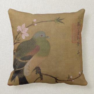 Vintage alte japanische Malerei eines wilden Kissen
