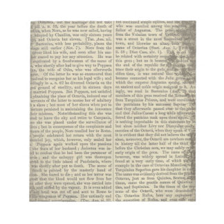 Vintage alte Wörterbuch-Papierseite Notizblock