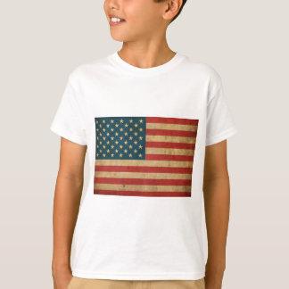 Vintage Amerika-Flagge T-Shirt