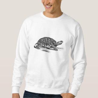 Vintage amerikanische Kasten-Schildkröte - Sweatshirt