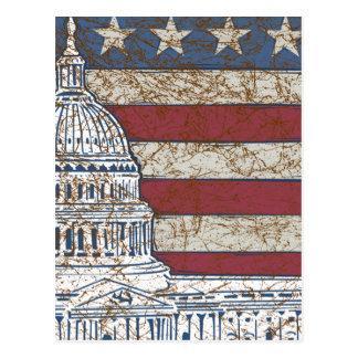 Vintage amerikanische Regierung Postkarte