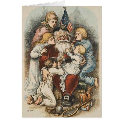 Vintage amerikanische weihnachtskarten gru karte zazzle - Amerikanische weihnachtskarten ...