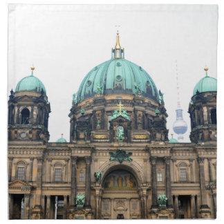 Vintage Ansicht von Berlin-Kathedrale (Bewohner Serviette