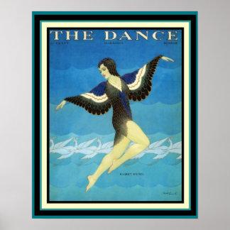 Vintage Anzeige das Tanz-Zeitschriften-Plakat 16 x Poster