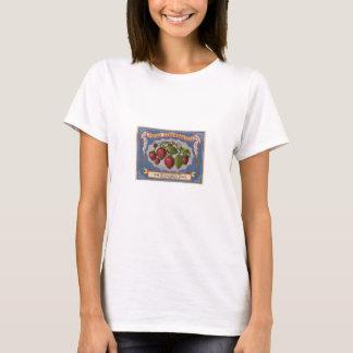 Vintage Anzeige für frische Erdbeeren circa 1868 T-Shirt