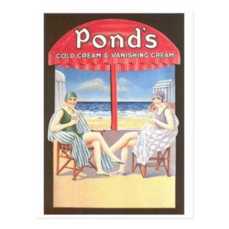 Vintage Anzeigen-Grafik-Postkarte Postkarten