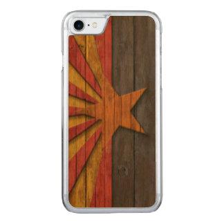 Vintage Arizona-Flagge beunruhigt Carved iPhone 8/7 Hülle