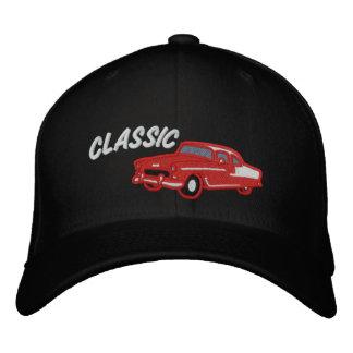Vintage Art 50er des klassischen Autos Bestickte Kappe