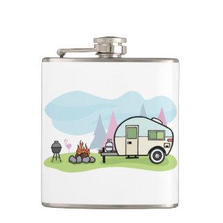 Vintage Art-Camper-Flasche