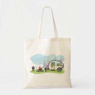 Vintage Art-Camper-Taschen-Tasche Budget Stoffbeutel