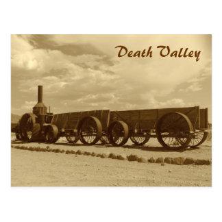 Vintage Art-Death- Valleypostkarte! Postkarte