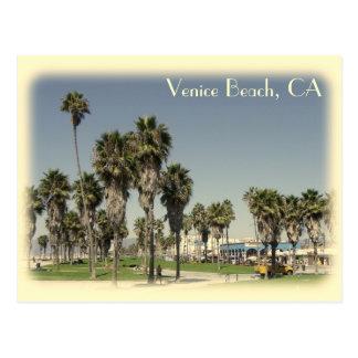 Vintage Art-Venedig-Strand-Postkarte! Postkarte