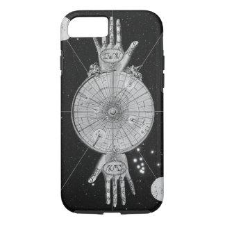 Vintage Astrologie-metaphysisches Bild iPhone 7 Hülle