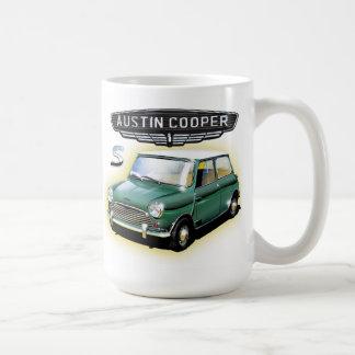 Vintage Austin-Fassbindermalerei Kaffeetasse