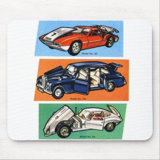 Vintage Auto-Automobil-Modelle Mauspad