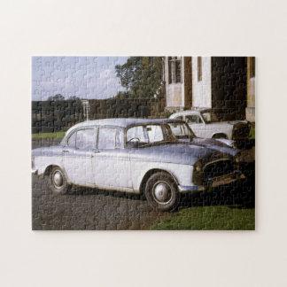 Vintage Autos, klassische Automobil-kleine Autos Puzzle