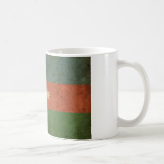 Vintage Azerbaijan-Flagge Kaffeetasse