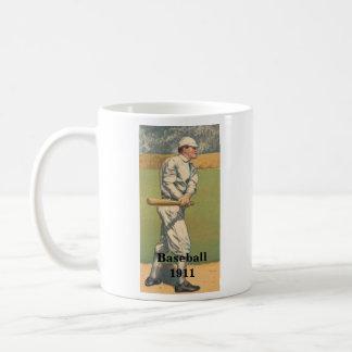Vintage Baseball-Tasse 1911 Kaffeetasse