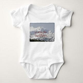 Vintage Berge: I Liebe Sie zur Spitze und zur Baby Strampler