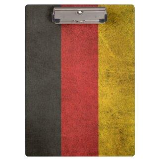 Vintage beunruhigte Flagge von Deutschland