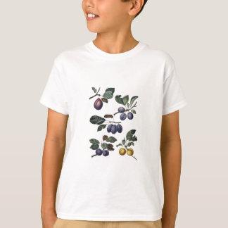 Vintage Birnen und Pflaumen T-Shirt