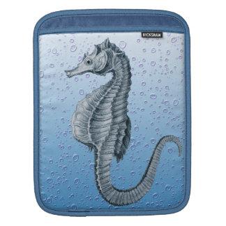 Vintage Blasen des Seepferds Sleeve Für iPads