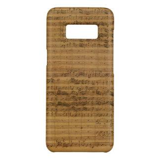 Vintage Blatt-Musik durch Johann Sebastian Bach Case-Mate Samsung Galaxy S8 Hülle