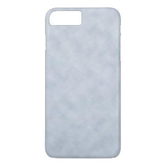Vintage blaues Grau-Pergament-Blick-Beschaffenheit iPhone 7 Plus Hülle